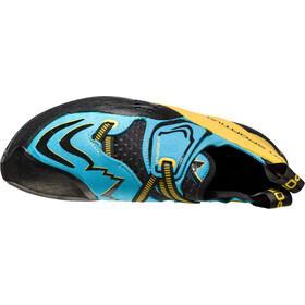 La Sportiva Futura Climbing Shoes Herre blue/yellow